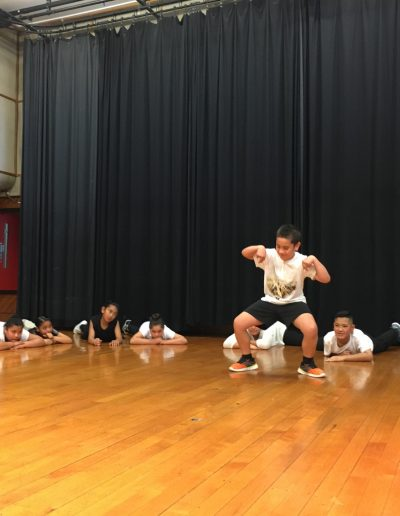 National Youth Theatre Company workshop with Sistema Aotearoa