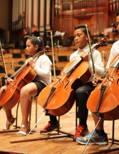 Sistema Aotearoa Concert at the Town Hall