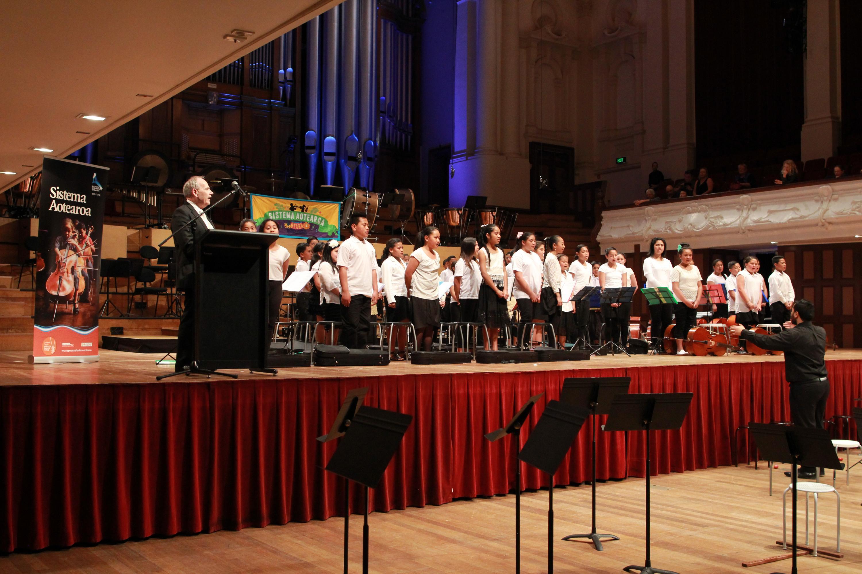 Rangatahi Philharmonia Orchestra Launch