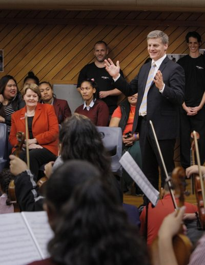 PM addresses students of Sistema Aotearoa