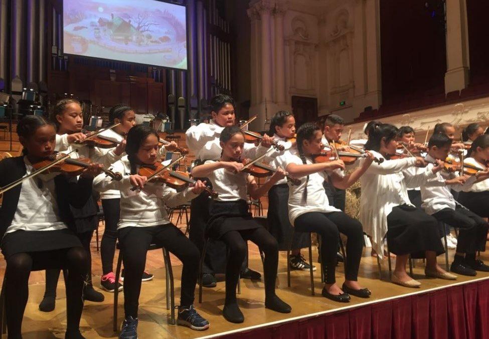 Iriaka Orchestra and APO 4 Kids Performance
